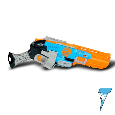 NERF Zombie Strike Sledgefire Dart Blaster Sledge Fire Gun No Shells or  Darts